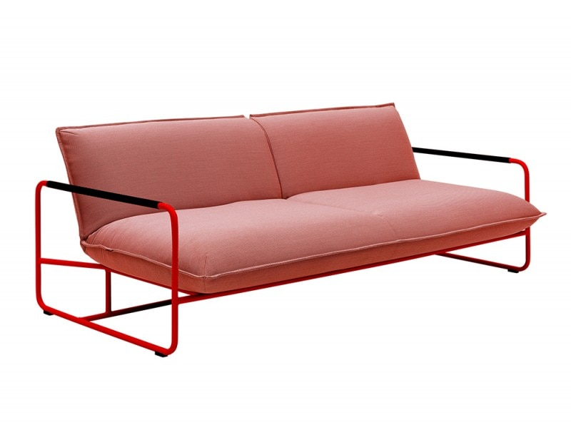 Bed sofa / contemporary / acrylic / futon