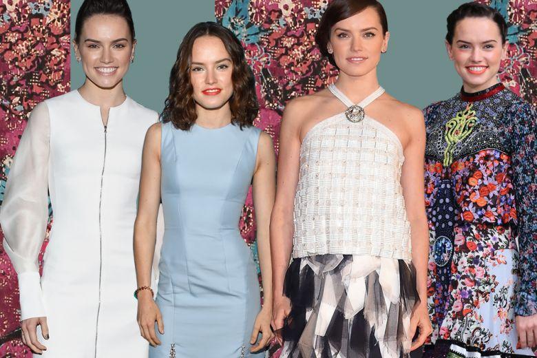 Daisy Ridley: i look dell'attrice di Stars Wars