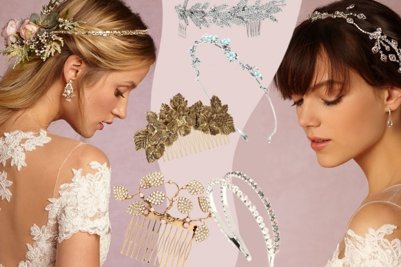 Gli accessori per capelli per la sposa
