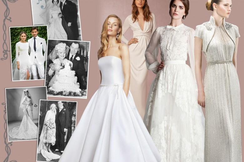 Come sono cambiati gli abiti da sposa negli ultimi 100 anni