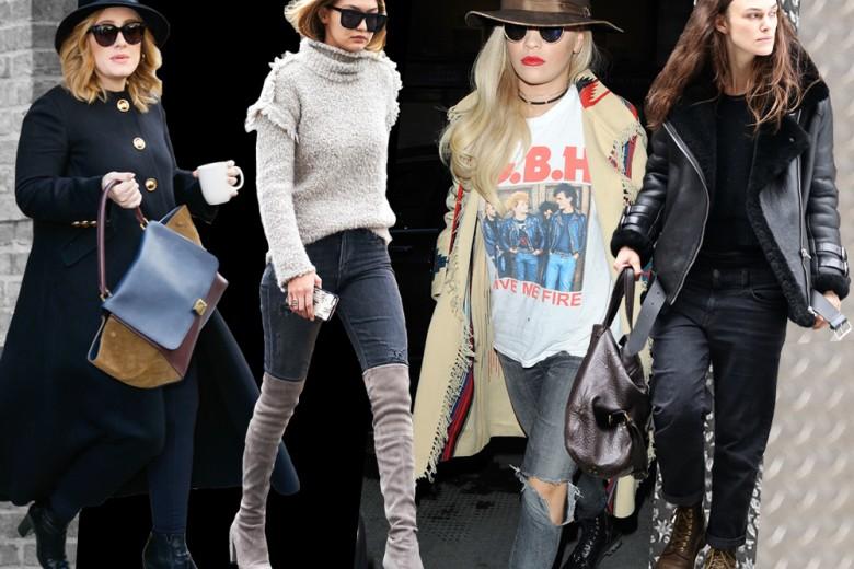 Celebrities street style: come si vestono (veramente) le star