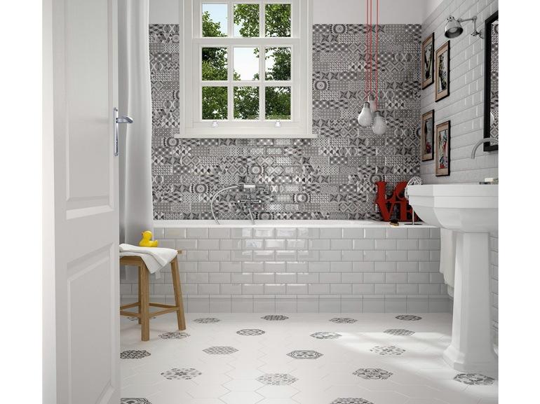 Piastrelle per il bagno come sceglierle e utilizzarle - Piastrelle nere per bagno ...
