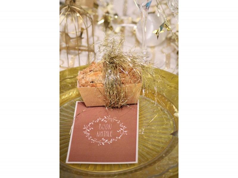 Il mini plum cake come segnaposto