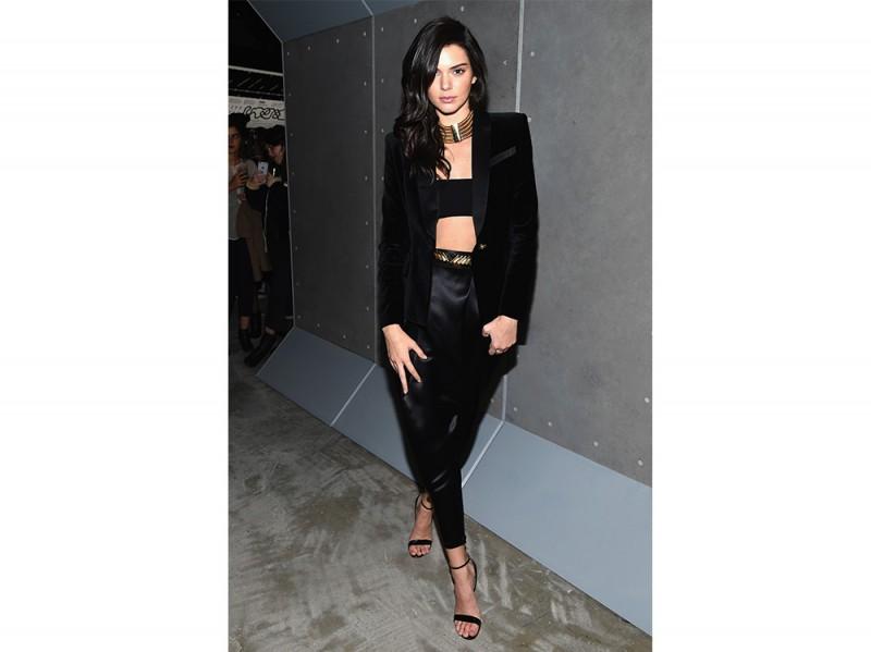 Kendall Jenner in Balmain for hm