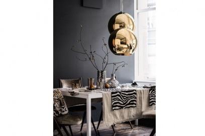 Lampadario oro H&M Home