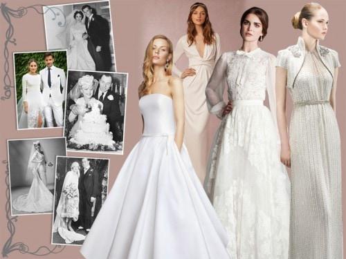 Vestiti Da Sposa Primi 900.Come Sono Cambiati Gli Abiti Da Sposa Negli Ultimi 100 Anni