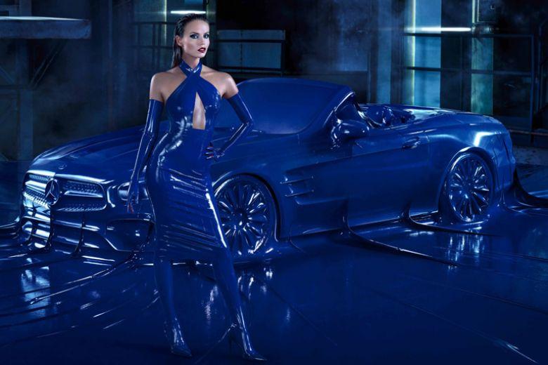 Natasha Poly protagonista della nuova campagna Mercedes-Benz