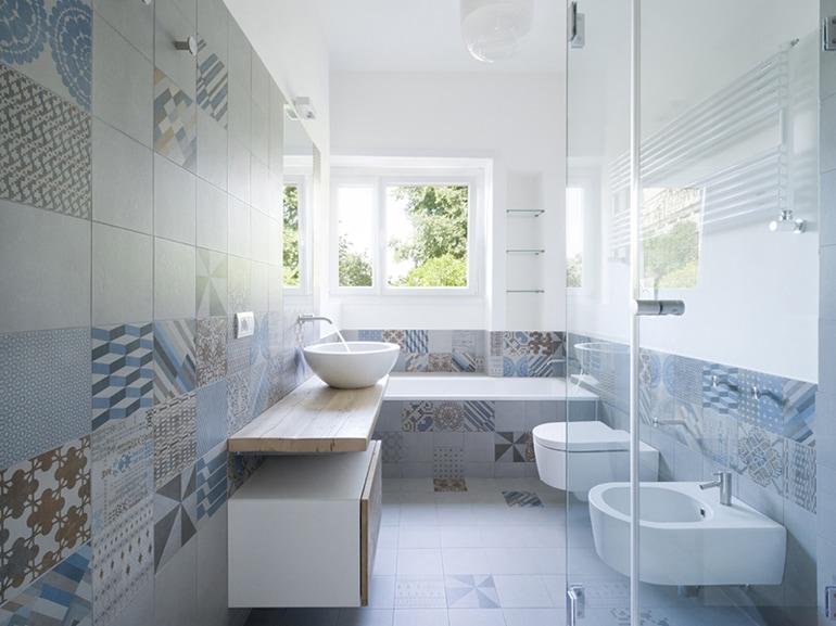 piastrelle per il bagno: come sceglierle e utilizzarle - grazia.it - Bagni Con Mutina