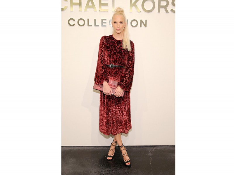 Poppy Delevingne in Michael kors Collection