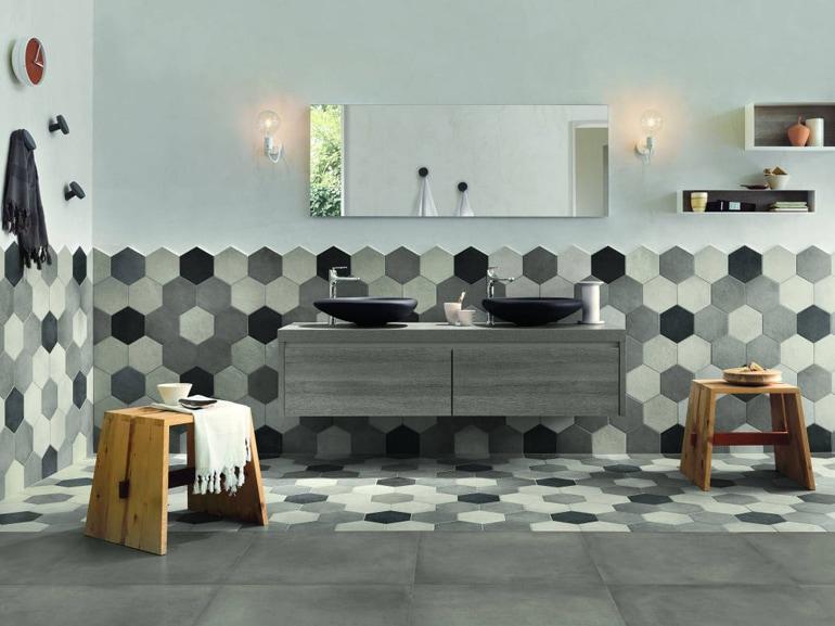 Piastrelle per il bagno come sceglierle e utilizzarle grazia