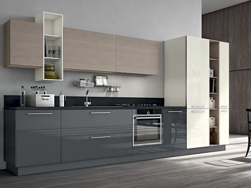 Stosa le cucine pi belle grazia - Cucine moderne bicolore ...