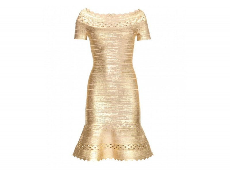 abito oro hervé léger