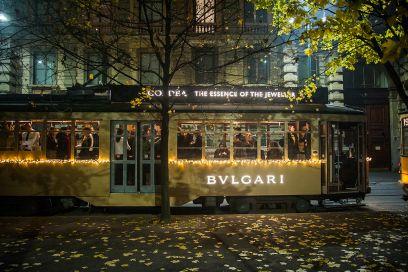 Bulgari Goldea: sul tram dorato insieme alle IT Blogger di Grazia.it