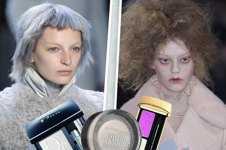Trucco occhi color ghiaccio: il make up più chic per l'Inverno