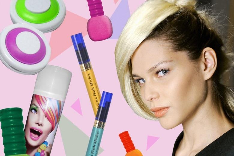 Cambiare colore di capelli con le tinte temporanee