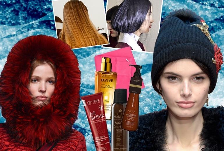 Come proteggere i capelli dal freddo