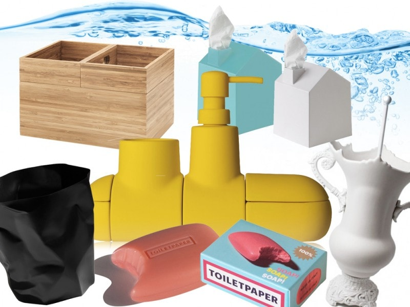 Accessori originali di design per il bagno - Grazia.it