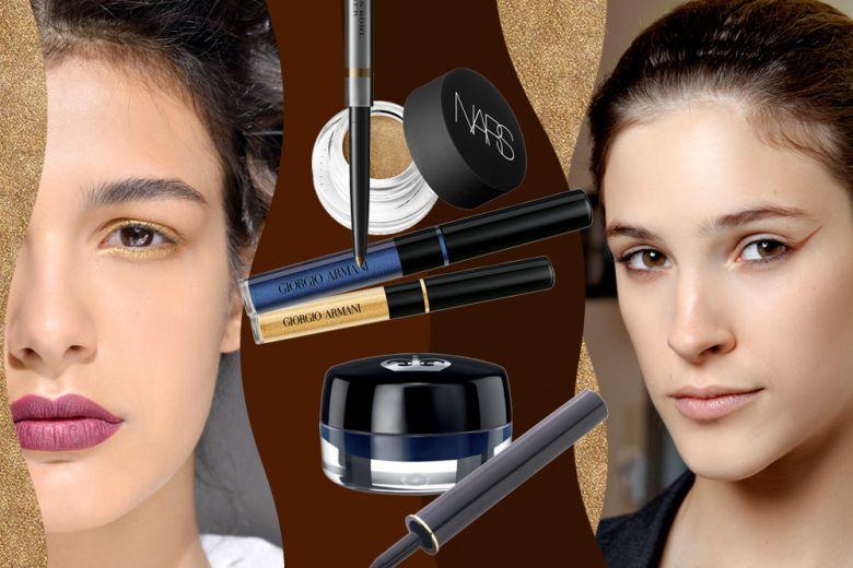 Eyeliner per occhi marroni: quali sono i colori adatti?