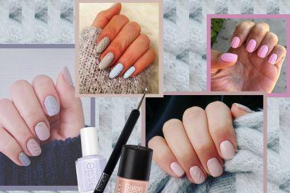 Knitted nail art: la manicure invernale più cool su Instagram