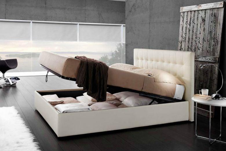 Letti con contenitore: spazio e confort senza rinunciare al design