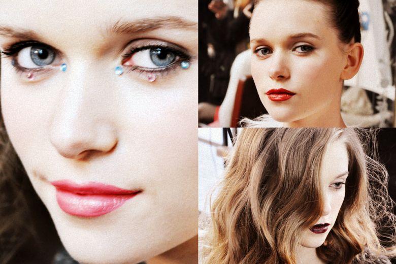 Trucco di Capodanno: labbra candy coral, rosse o dark? Scegliete il vostro beauty look preferito