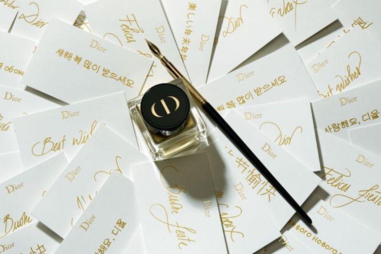 Natale con Dior: la personalizzazione del regalo