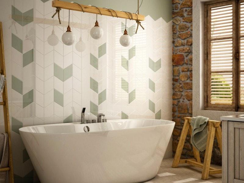 Piastrelle per il bagno: come sceglierle e utilizzarle grazia