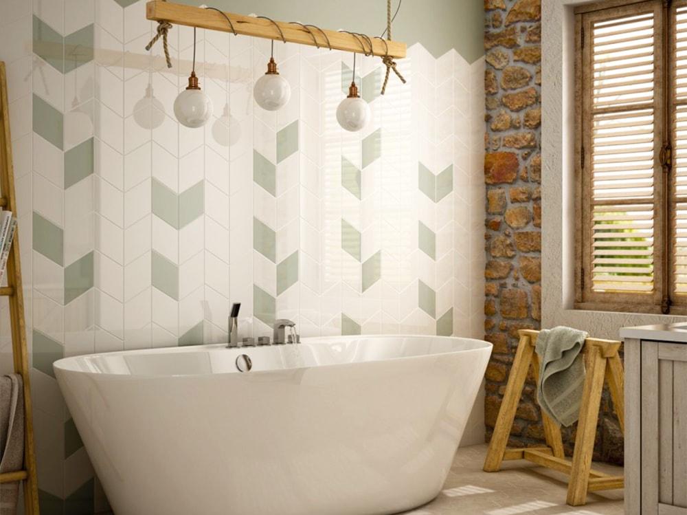 Piastrelle per il bagno come sceglierle e utilizzarle for Tutto per il bagno