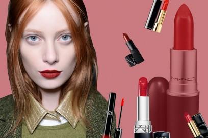 Rossetti rossi: il trucco labbra delle feste è intenso ed elegante