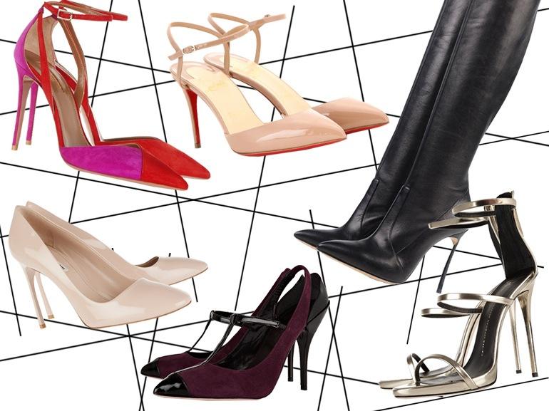 cover scarpe tacchi spillo mobile