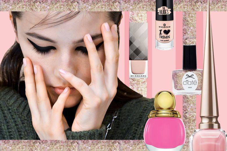Smalti rosa per l'Inverno: tonalità pastello e sfumature accese
