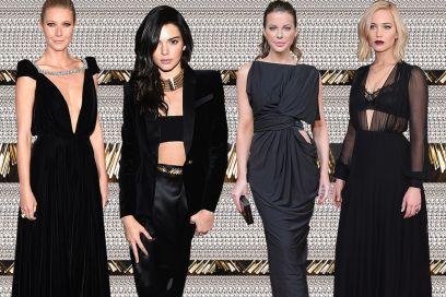 Da Dakota Johnson a Jennifer Lawrence: i look total black delle star