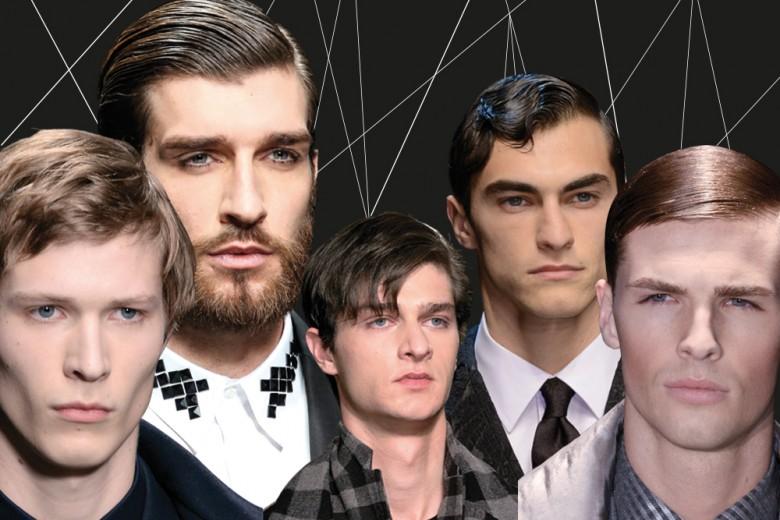 Tagli capelli uomo: la riga ora si porta di lato