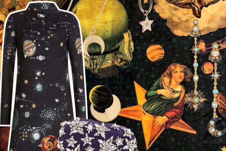 Astro-shopping: lune, stelle e pianeti per un look a tema