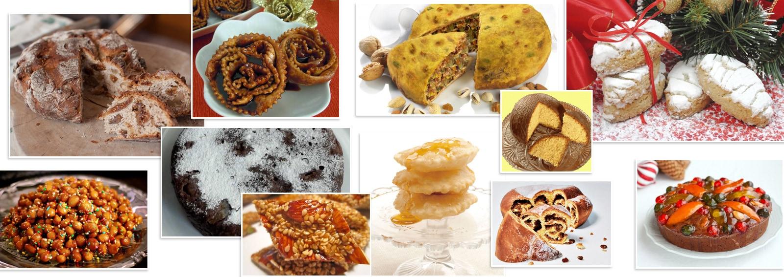 dolci natale tipici Italia menu delle feste desk