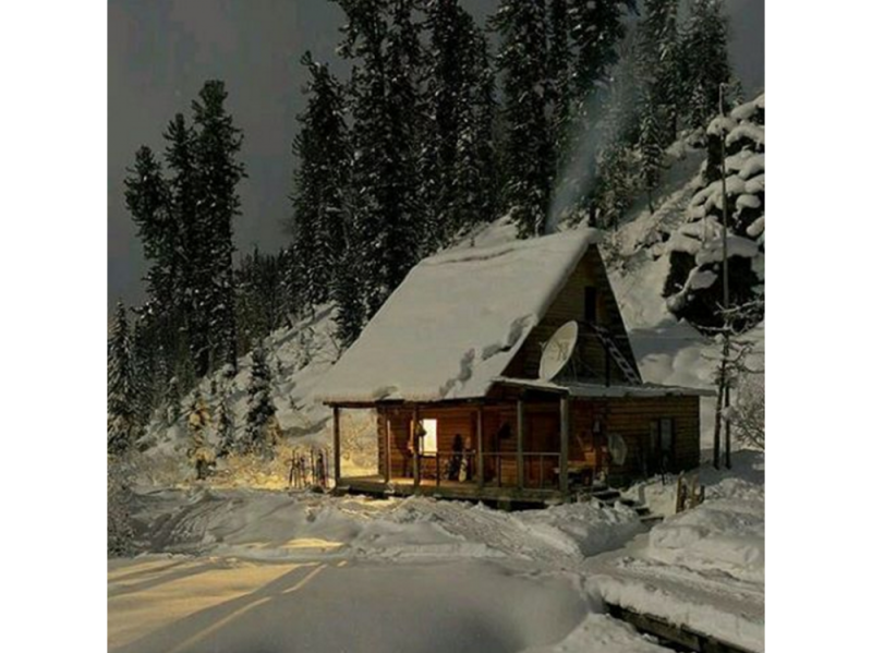 @my_dream_cabin – snow