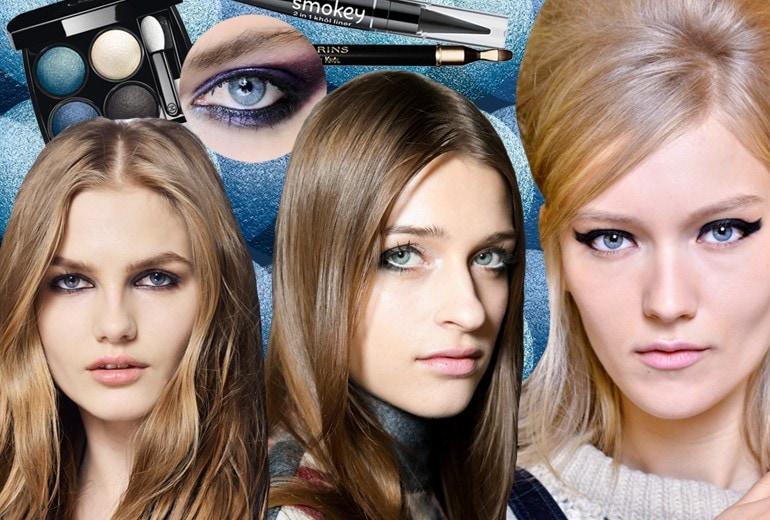 Occhi azzurri: quattro semplici consigli per valorizzarli con il trucco