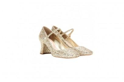 scarpe glitter miu miu