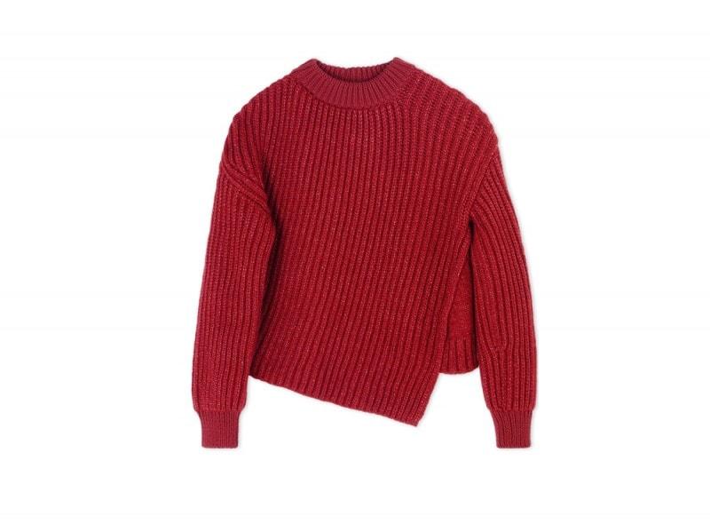 sportmax-maglione-rosso