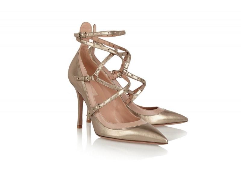 valentino-scarpe-oro
