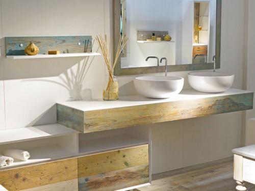 Bianchini & Capponi legno grezzo e bianco - Foto - Grazia.it