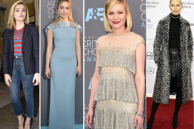 Le best dressed della settimana, da Kirsten Dunst a Chloe Moretz