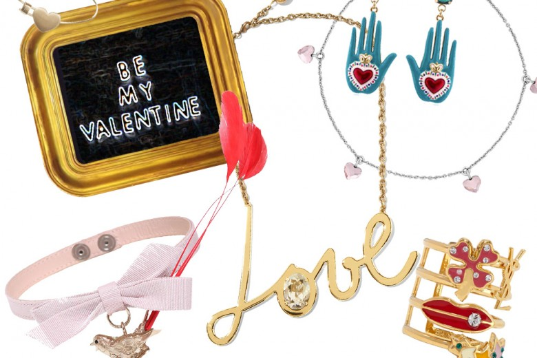 I gioielli per San Valentino