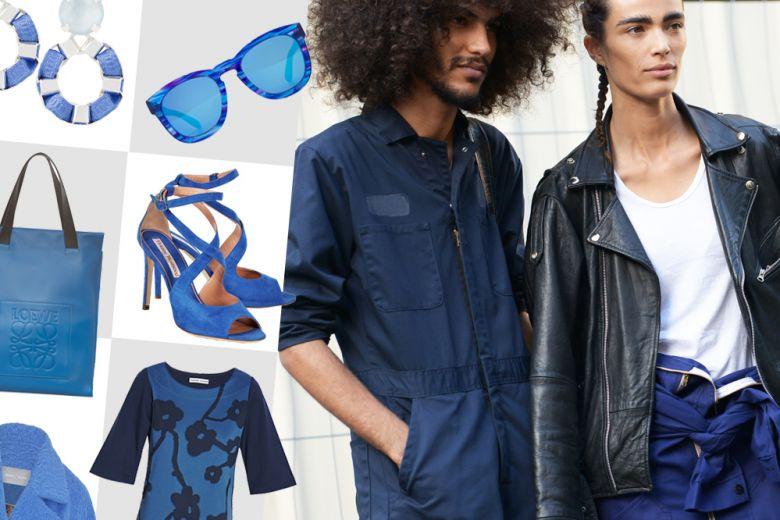 Shopping: qualcosa di blu!
