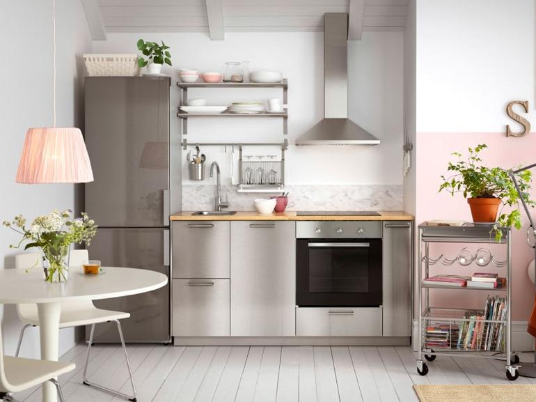 Le cucine in acciaio direttamente dai ristoranti pi famosi alla nostra casa grazia - Ikea cucine componibili ...