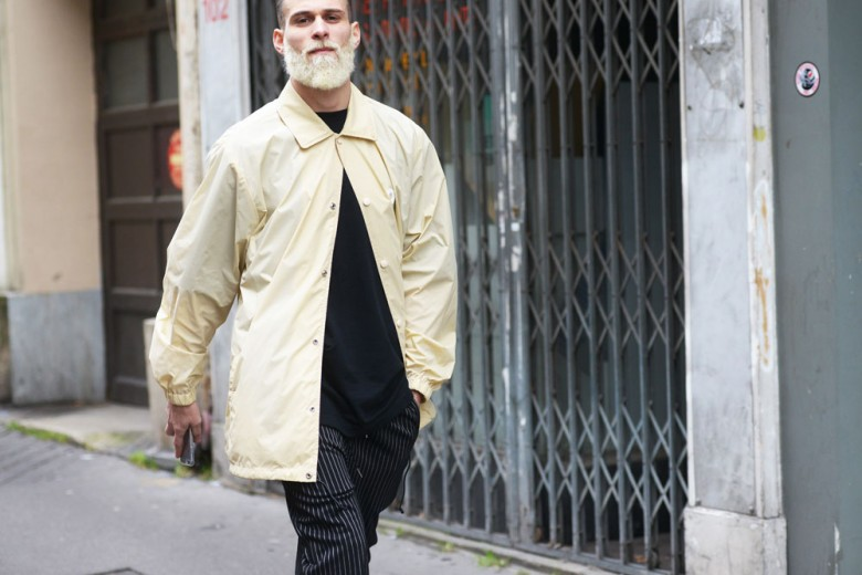 Street style in diretta da Parigi Moda Uomo