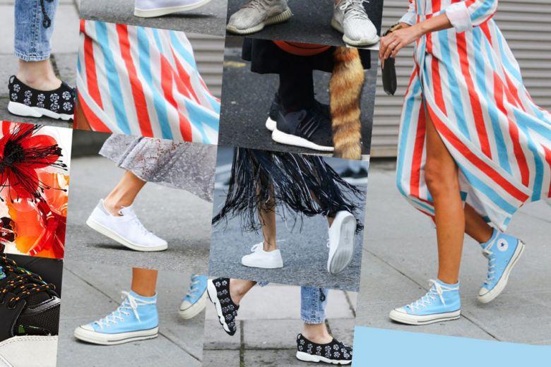 Shopping: mai senza sneaker!