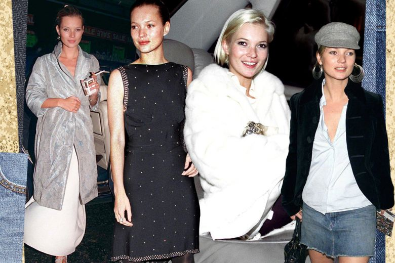 Get the #ThrowBack look: Kate Moss e lo stile anni 90