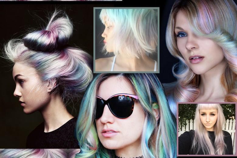 Capelli colorati: la nuova tendenza opal dai social network