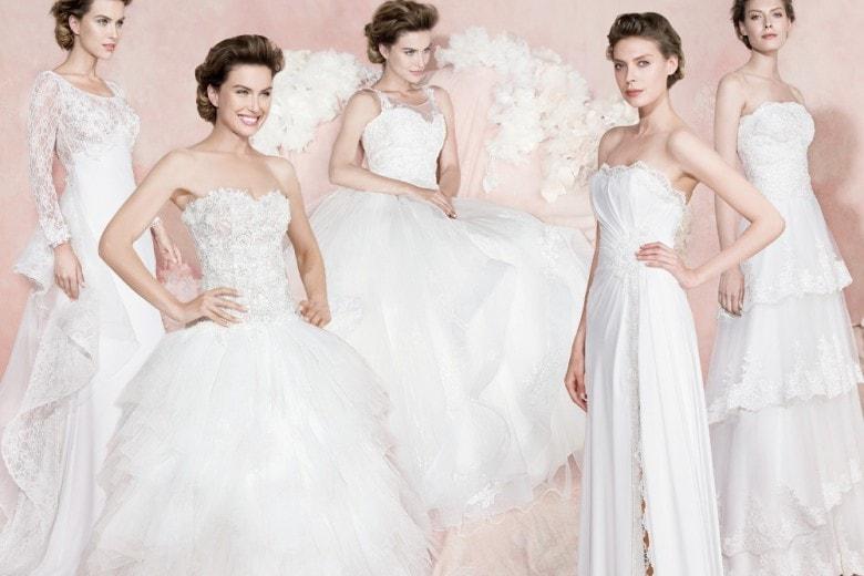 Gli abiti da sposa di Carlo Pignatelli 2016